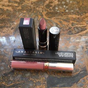 ABH Dusty Mauve Matte/ Veronica Liquid/ Lip Set
